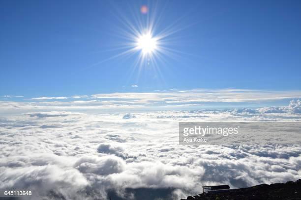 Sunrise view from Mt.Fuji