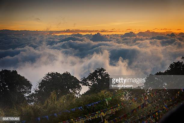 Sunrise view from Tiger Hill, Darjeeling