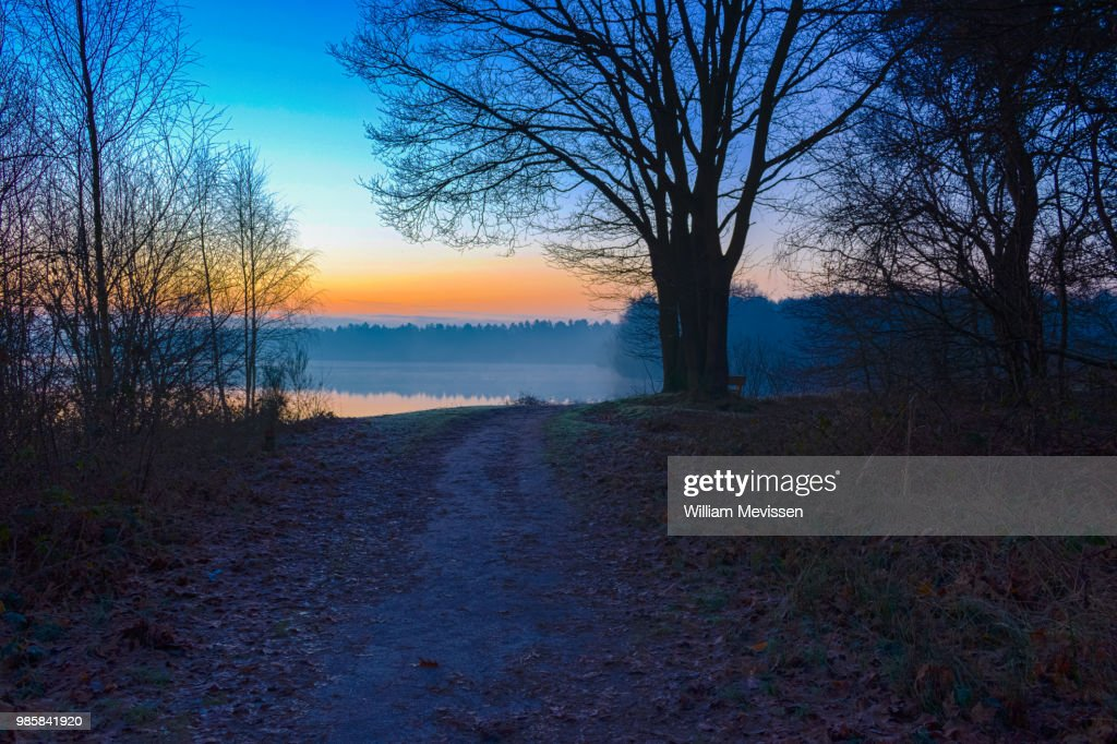 Sunrise View 'Path' : Stockfoto