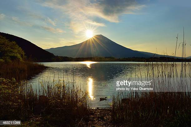 Sunrize at Mt. Fuji