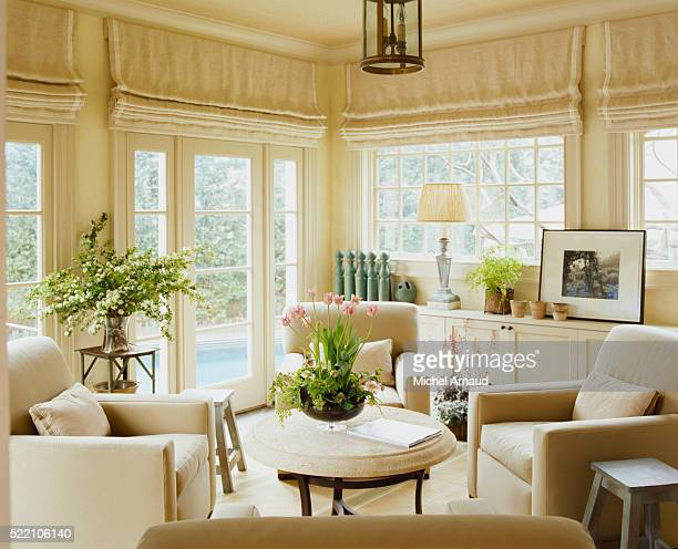 Sunroom in Neutral Colors