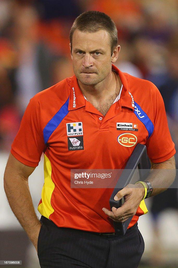 AFL Rd 4 - Gold Coast v Port Adelaide