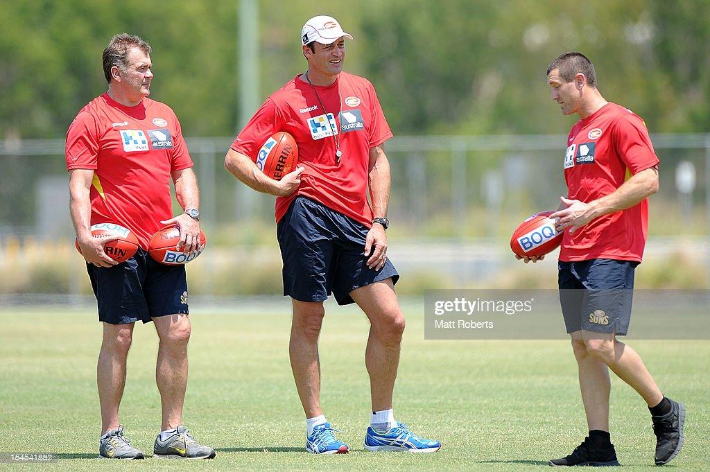 Gold Coast Suns Training Session