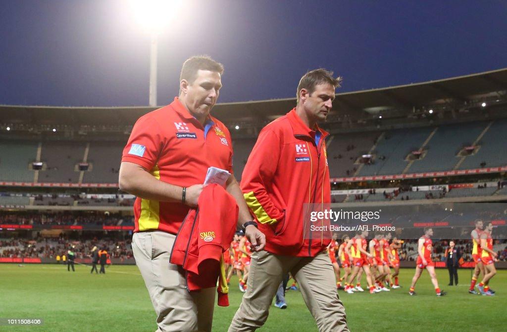 AFL Rd 20 - Melbourne v Gold Coast