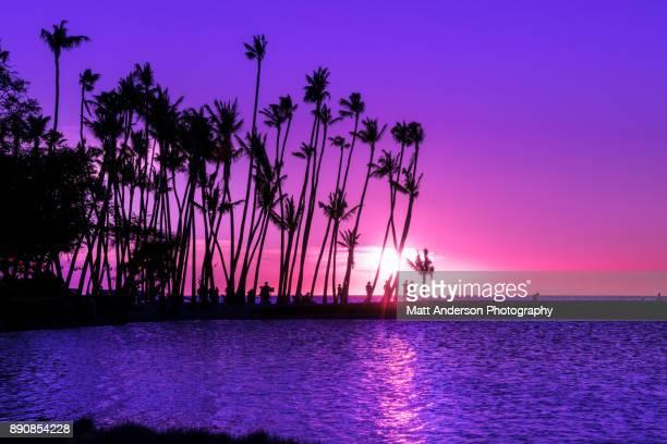 Sunset Anaeho'omalu Beach #5
