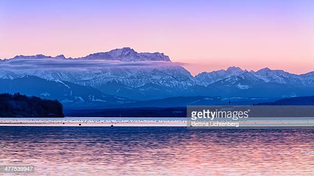 Sunset at Ammersee