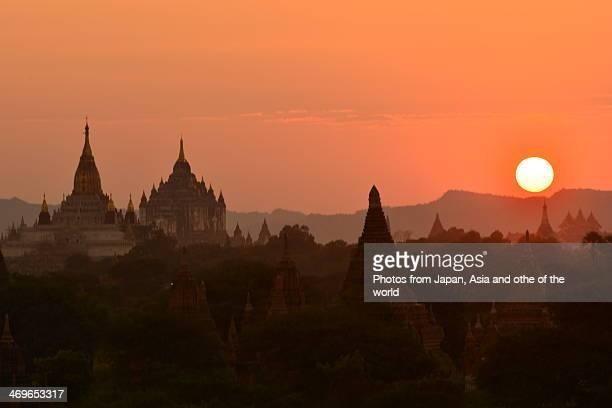 Sunset at Bagan, Myanmar