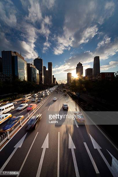 Sonnenuntergang in Peking