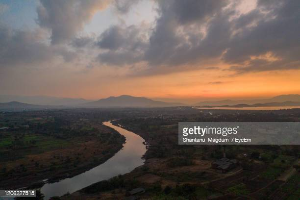 sunset at bhor - rainy season stock pictures, royalty-free photos & images