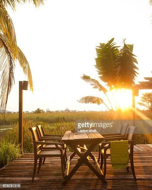 Sunset at Bon Ton Resort, Langkawi, Malaysia