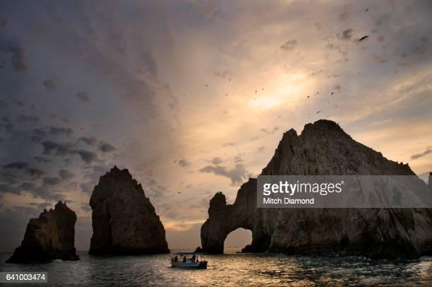 Sunset at Cabo san Lucas Arch