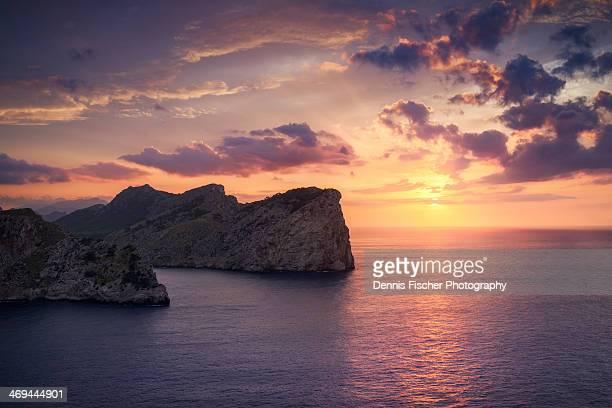 Sunset at Cap de Formentor