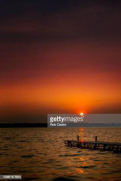 Sunset at Cayuga Lake
