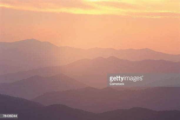 Sunset at Clingmans Dome , Great Smokey Mountain National Park , North Carolina