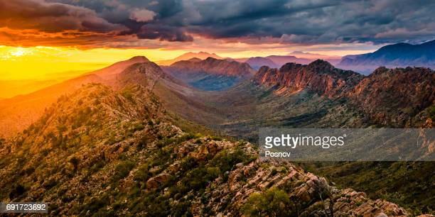 Sunset at Counts Point in West Macdonnell Ranges