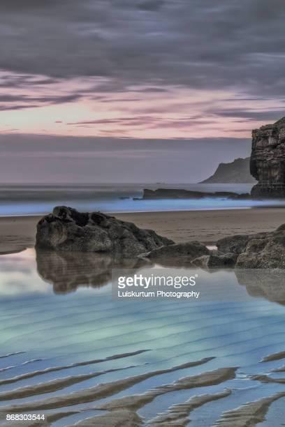 Sunset at Crismina´s beach