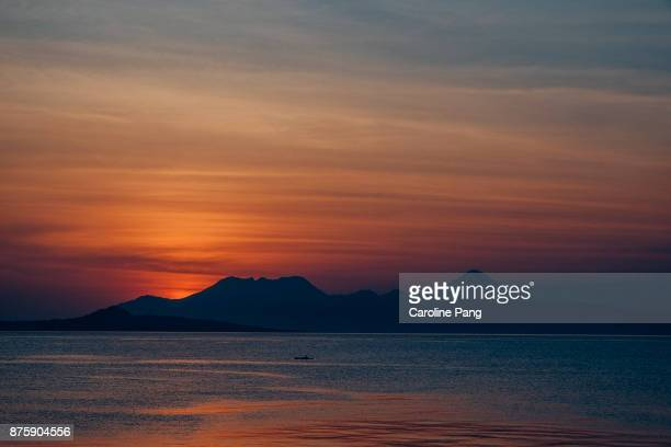 Sunset at Ende, Flores Indonesia
