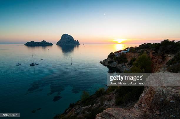 Sunset at es Vedra Ibiza
