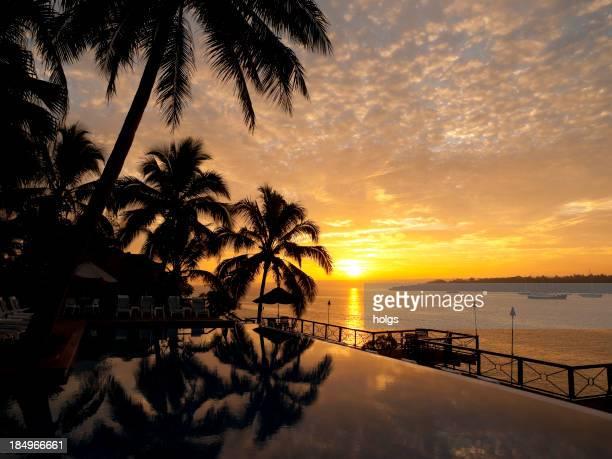 Sonnenuntergang in Iririki Island, Vanuatu