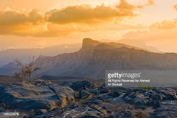 Sunset at Jabal Shams