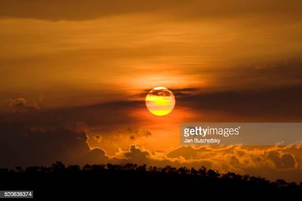 Sunset at Katherine Gorge