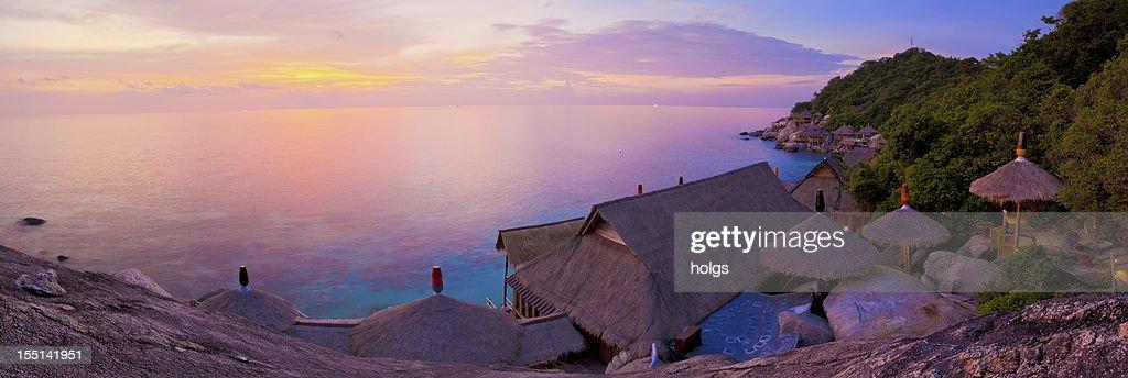 Sunset at Koh Tao, Thailand : Stock Photo