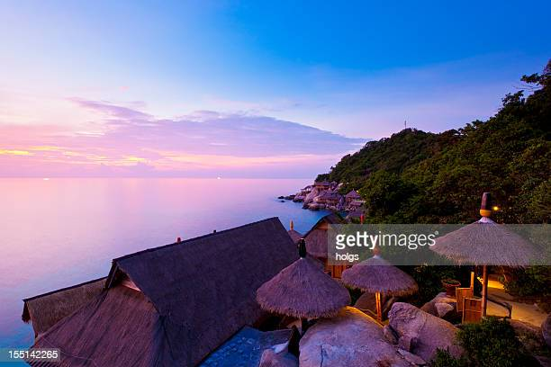 Sonnenuntergang in Koh Tao, Thailand