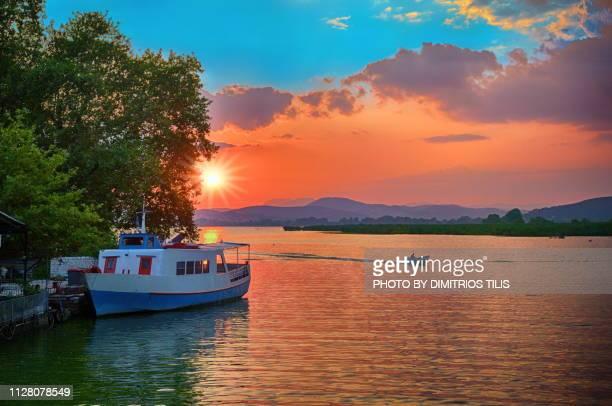 Sunset at Lake Pamvotis 2