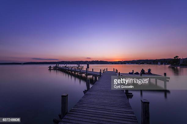 Sunset at Lake Starnberg