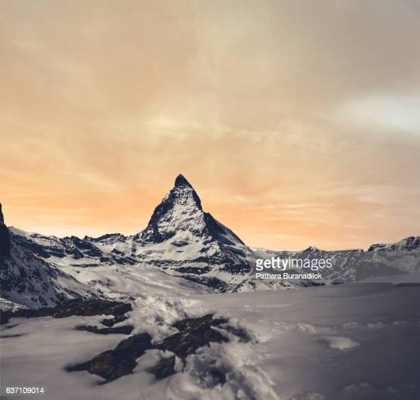 Sunset at Matterhorn