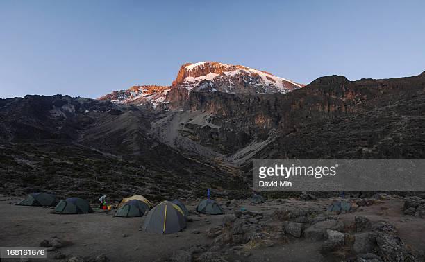 Sunset at Mount Kilimanjaro
