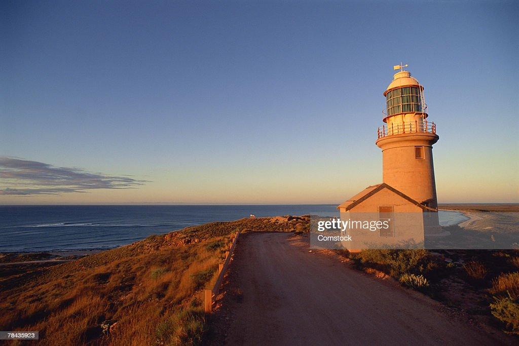 Sunset at Ningaloo Lighthouse , Australia : Stockfoto