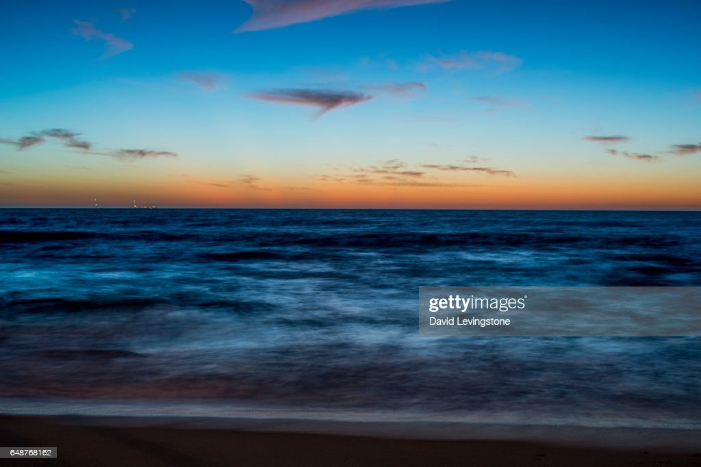 Sunset at North Beach, Perth, Western Australia : Stock Photo