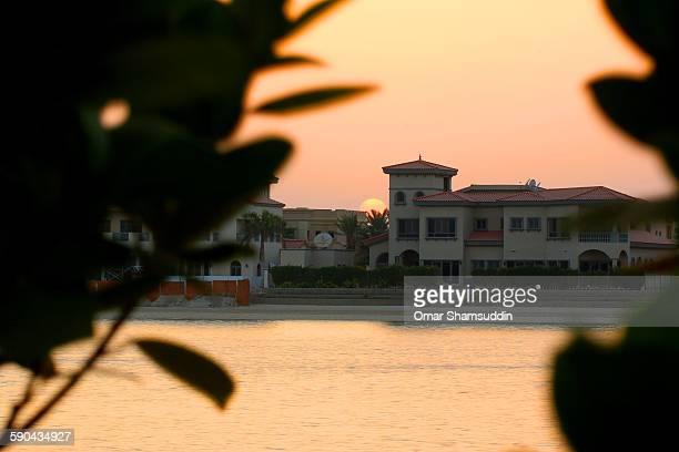 Sunset at Palm Jumeirah