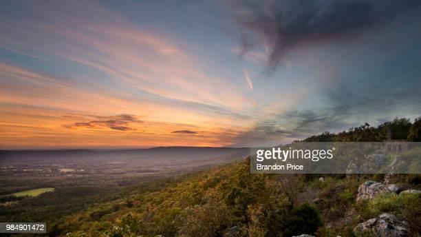 Sunset at Petit Jean Overlook