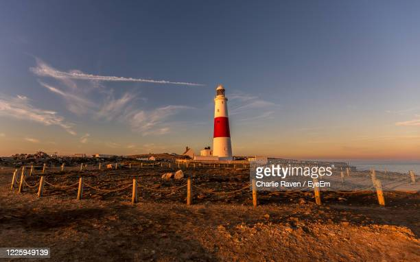 sunset at portland bill, dorset, uk - 2018 stock pictures, royalty-free photos & images