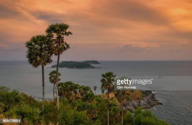 Sunset at Promthep Cape , Phuket , Thailand