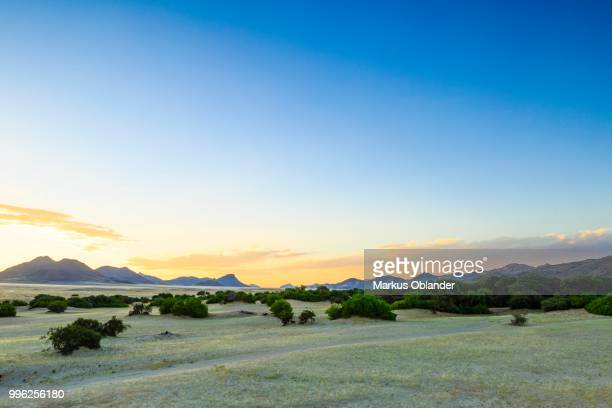 Sunset at Purros, Kunene Region, Namibia