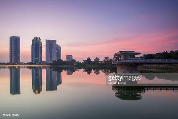 Sunset at Putrajaya Dam
