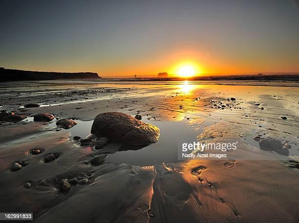Sunset at Rapahoe Beach