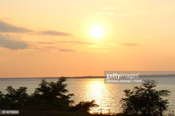 sunset at sag harbor - sag harbor stock photos and pictures