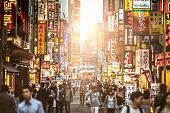 Sunset at Shinjuku