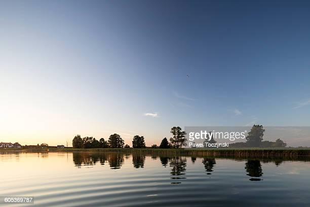 Sunset at Stackie Lake, Masuria Lake District