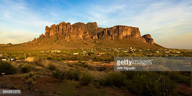 Sunset at Superstition Mountains