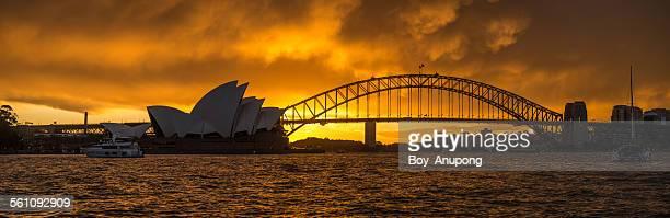 Sunset at Sydney