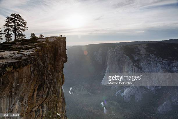 Sunset at Taft point, Yosemite, USA