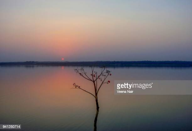 Sunset at the Ambazari lake,Nagpur