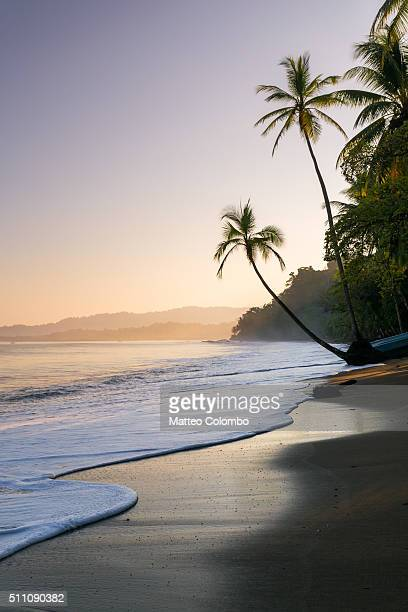 Sunset at the beach, Baya Drake, Osa peninsula, Costa Rica