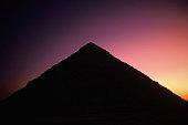 pyramids giza outside cairo egypt foreground