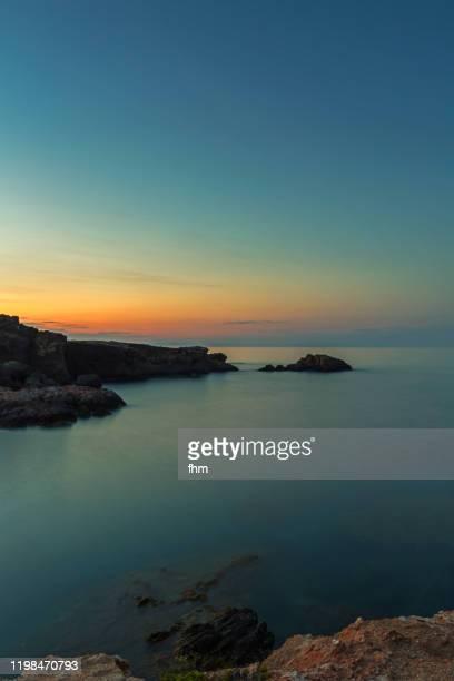 sunset at the sea - 南ヨーロッパ ストックフォトと画像